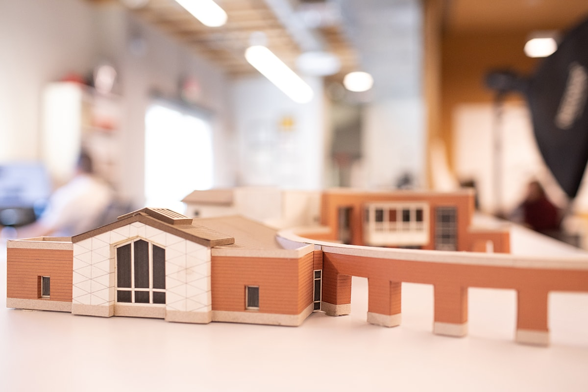 Paul Halajian Architects - St. Columba Model