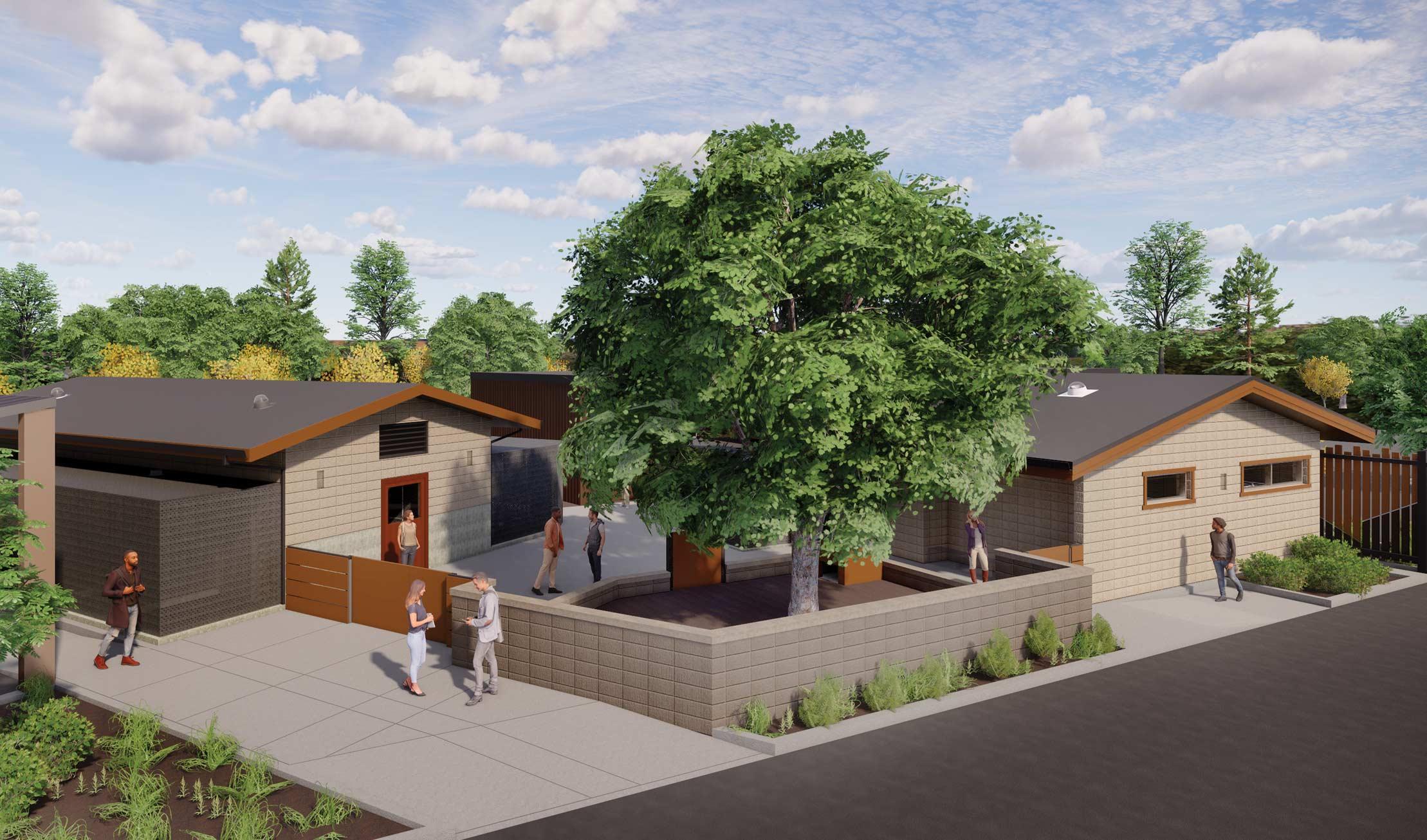 Fresno Chaffee Zoo Ambassador Building Render